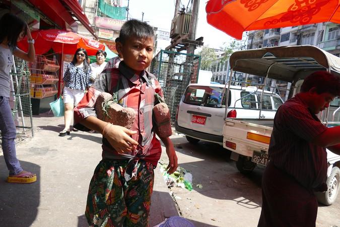 Yangon Vendors