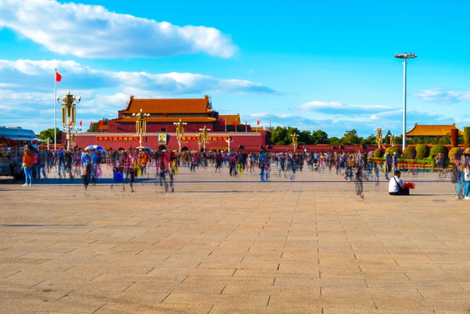 Some Views of Tiananmen Square