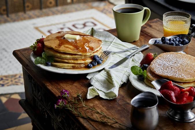 Pancakes, Sabrinas Cafe