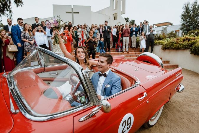 Wedding in Horcón